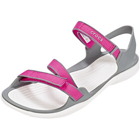 Crocs Swiftwater Sandaler Damer grå/pink